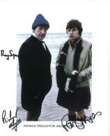 Roy Spencer, Frazer Hines & Richard Hayes- Genuine Signed Autograph 8015