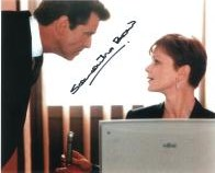 Samantha Bond (James Bond) - Genuine Signed Autograph 7908