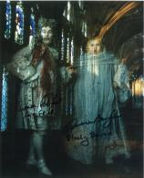 Simon Fisher Becker & Terence Bayler - Genuine Signed Autograph 7703