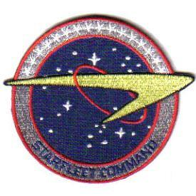 Star Trek Starfleet Command logo uniform fleet patch
