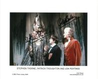 Stephen Thorne & Bob Baker - Genuine Signed Autograph 8012