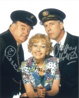 Sue Pollard, Paul Shane & Jeffery Holland (Hi De Hi) - Genuine Signed Autograph 8025