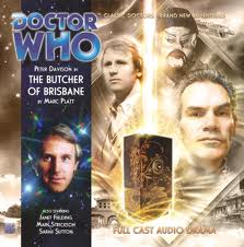 The Butcher of Brisbane signed  Doctor Who Big Finish CD