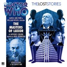 The Masters of Luxor signed  Doctor Who Big Finish CD