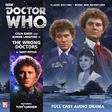 The Wrong Doctors SIGNED BY BONNIE LANGFORD  Doctor Who Big Finish CD