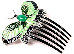 Titanic Rose's Vintage Beautiful Butterfly Comb&Replica Hairpin