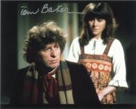 Tom Baker (Doctor Who) - Genuine Signed Autograph 7852