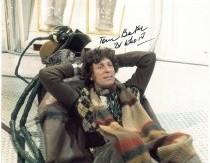Tom Baker Signed 10 x 8 Photograph#6