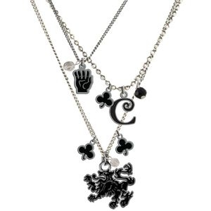 Twilight New Moon TRIPLE CHARM NECKLACE cullen props