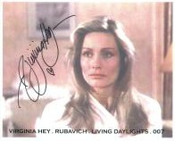 Virginia Hey (James Bond) - Genuine Signed Autograph 7126