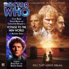 Voyage to the New World  Doctor Who Big Finish CD