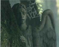 Weeping Angel (Unknown Signature) - Genuine Signed Autograph 7845