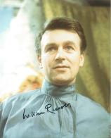 William Russell (Doctor Who) - Genuine Signed Autograph 7154