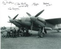 World War 2 Pilots (x6 Autographs) - Genuine Signed Autograph 7724