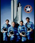 William B Lenoir & Vance Brand NASA Astronauts from STS 5 hand signed autograph