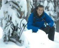 Bear Grylls (Adventurer) - Genuine Signed Autograph 8036