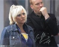 Camille Coduri from Doctor Who Signed 10 x 8 Photograph #2