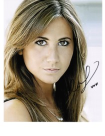 "CIARA JANSON ""AMY"" 5th Doctors Companion signed autograph Big Finish Doctor Who audio dramas"