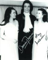 Damien Thomas & Mary Collinson 'Twins Of Evil' HAMMER HORROR Genuine Signed Autograph 10 X 8 COA 111