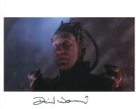 David Warner - Star Trek, Genuine Signed Autograph 10x8, 6927