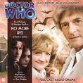 "Doctor Who Big Finish ""No More Lies"" (CD COVER ONLY) signed by Tom Chadbon 1325"