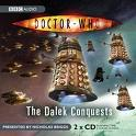 Doctor Who, The Dalek Conquests (CD COVER ONLY) signed by Katy Manning 1336