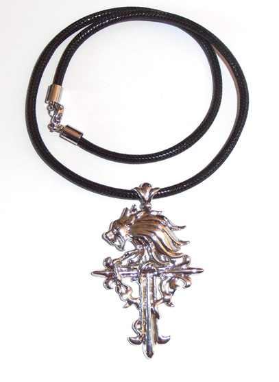 Gothic squall griever necklace final fantasy cross mozeypictures Image collections