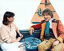 Janet Ellis from Blue Peter and Doctor Who Genuine Signed Autograph 10x8 coa 137