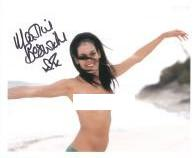 Martine Beswick (Hammer Horror, Bond Girl, One Million years)  Genuine Signed Autograph 7222