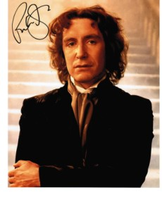 Paul McGann   8th DOCTOR - DOCTOR WHO 10x8 Genuine Signed Autograph 1879