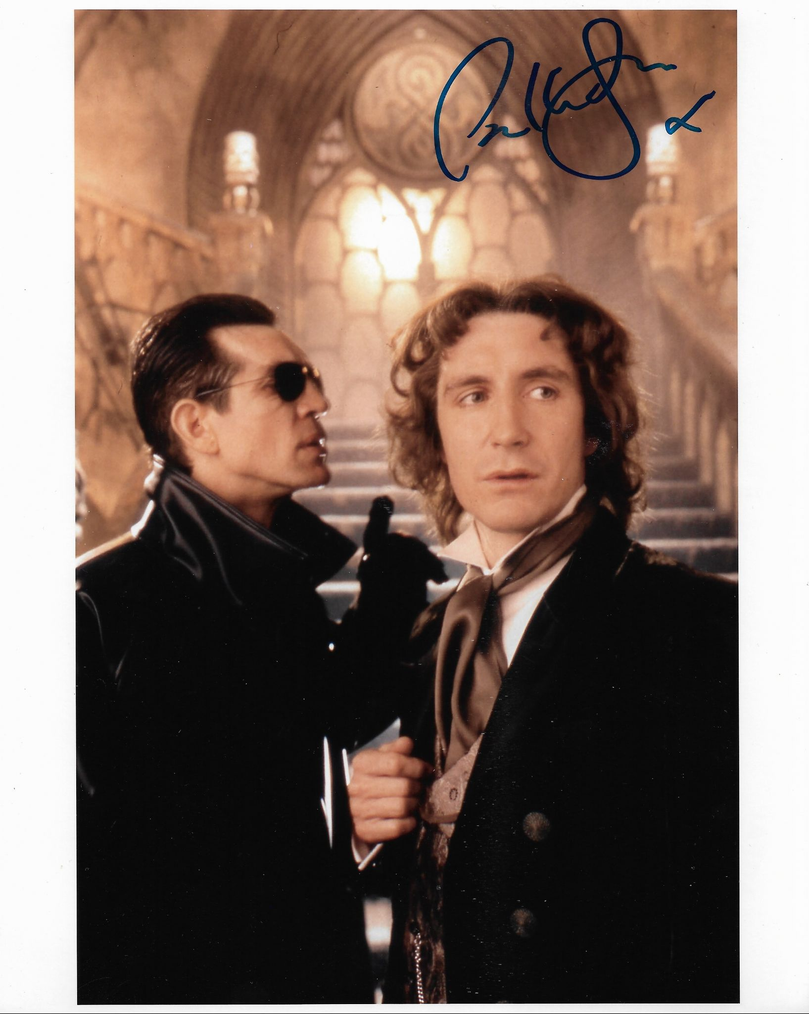 Paul McGann   8th DOCTOR - DOCTOR WHO 10x8 Genuine Signed Autograph 703