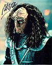 "Robert O'Reilly ""Gowron"" Genuine Signed Autograph 10x8(Star Trek:TNG/ Deep Space Nine) #2"
