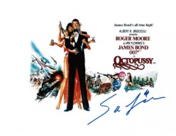 SAFIRA AFZAL from Bond Film Octopussy signed autograph