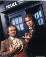 Sylvester McCoy and Paul McGann (Doctor Who) - Genuine Signed Autograph 7202