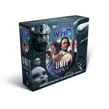 UNIT Diminion, box set doctor who signed by Beth Chalmers Big Finish CD